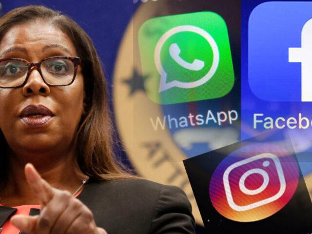 """EEUU demanda a Facebook por """"monopolio"""""""
