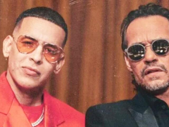 Daddy Yankee y Marc Anthony lanzan una canción juntos