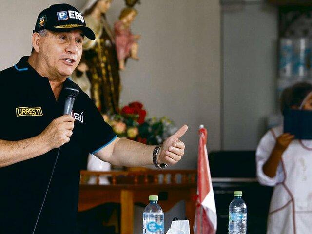 """Daniel Urresti: """"Estoy entre los indecisos para la segunda vuelta"""""""