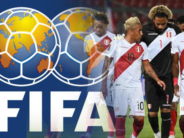 Selección peruana está en el puesto 25 del Ranking FIFA