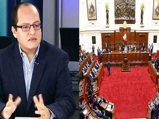 Víctor Quijada: Congreso populista impulsa proyectos inviables técnica y constitucionalmente