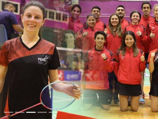 Perú se corona campeón por equipos en el Sudamericano de Bádminton