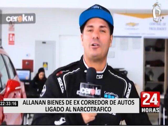 Allanan bienes del piloto Fernando de Olazábal acusado de ser cabecilla de banda de narcotraficantes