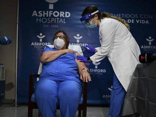 Puerto Rico inició esta mañana vacunación contra el coronavirus