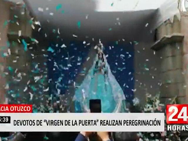 Trujillo: devotos de la Virgen de la Puerta inician peregrinación hacia Otuzco