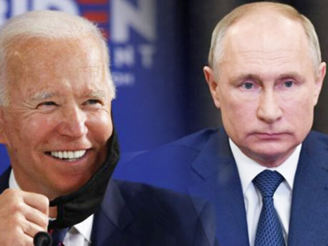 Putin felicitó a Biden por su victoria en las elecciones de EEUU
