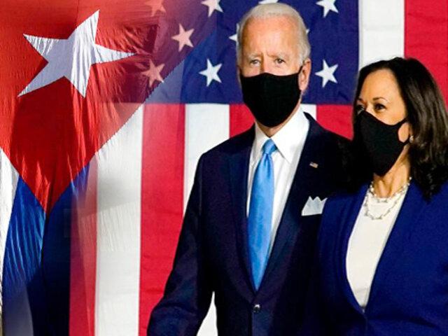 Biden planea cambio en estrategia de sanciones para Cuba