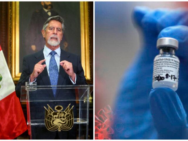 Vacuna Covid-19: Perú cierra nuevo contrato con Pfizer por 12 millones de dosis adicionales