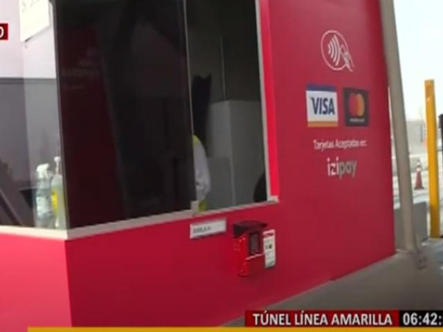 Peaje se puede pagar con moderno sistema sin contacto en Túnel de Línea Amarilla