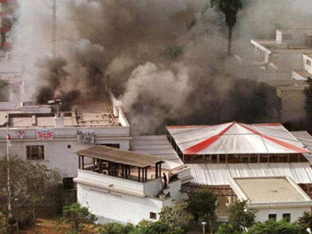 ¿Cómo ocurrió toma de la residencia del embajador de Japón hace 24 años?