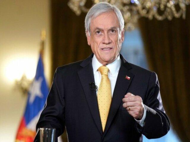 Sebastián Piñera: presentan acusación para destituir a presidente por caso Pandora Papers