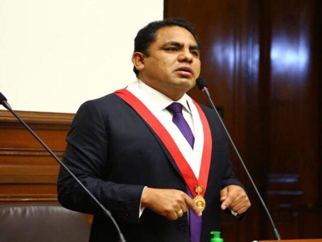 """Podemos Perú afirma que censura contra Mirtha Vásquez será una """"posición de la bancada"""""""