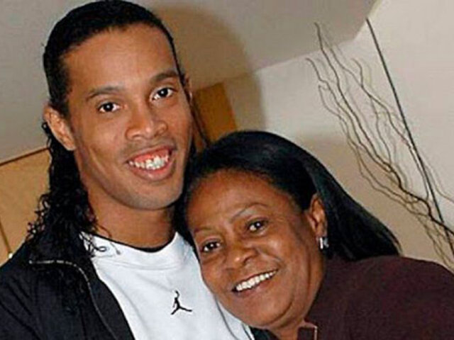 Ronaldinho: fallece su mamá a los 71 años a causa de la Covid-19