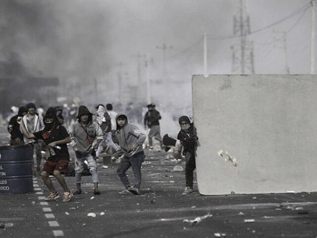 Paro agrario: reportan a policías heridos por enfrentamientos con manifestantes