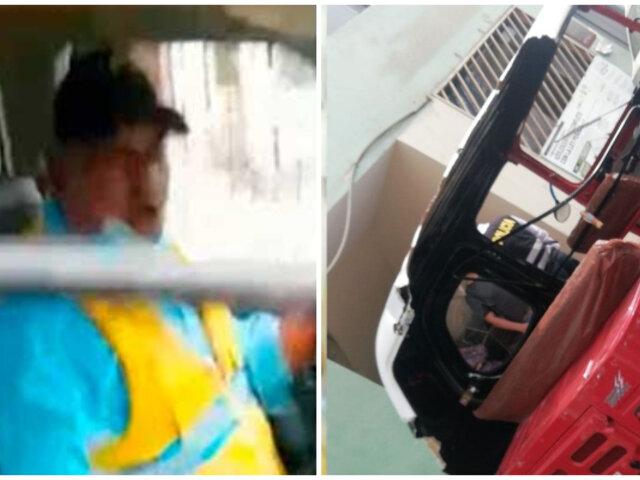 VMT: municipalidad despidió a fiscalizador que arrastró mototaxi con pasajeros