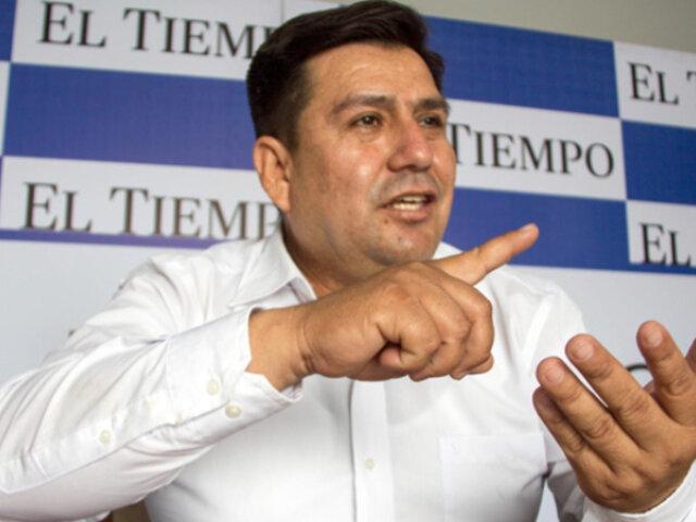 Piura: dictan prisión preventiva para alcalde Darwin García por compra de canastas