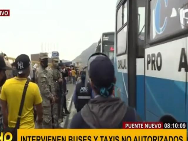 Puente Nuevo: ATU verifica cumplimiento de protocolos en transporte público