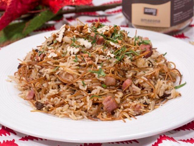 Fácil y rápida: receta para preparar un delicioso arroz árabe para la cena navideña