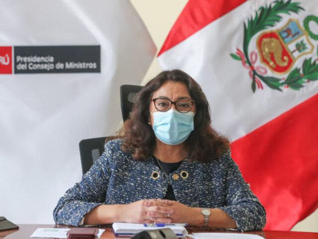PCM envió lista de los 487 funcionarios vacunados a Contraloría, Congreso y otras entidades del Estado