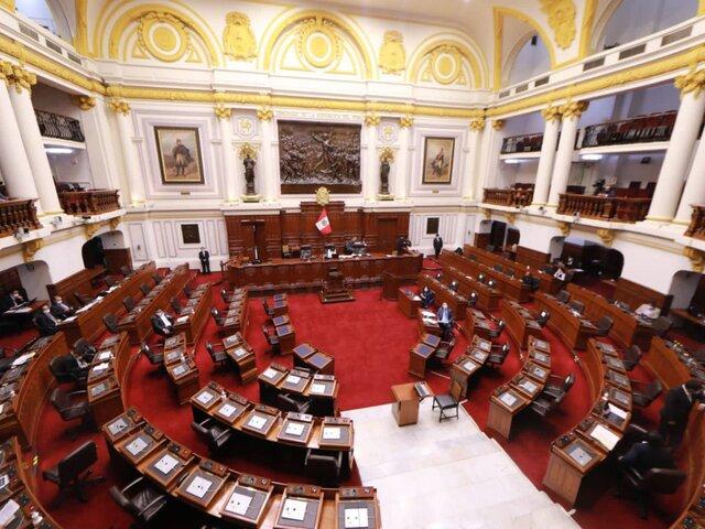Mesa Directiva del Congreso establece medidas por aumento de casos covid-19 en el país