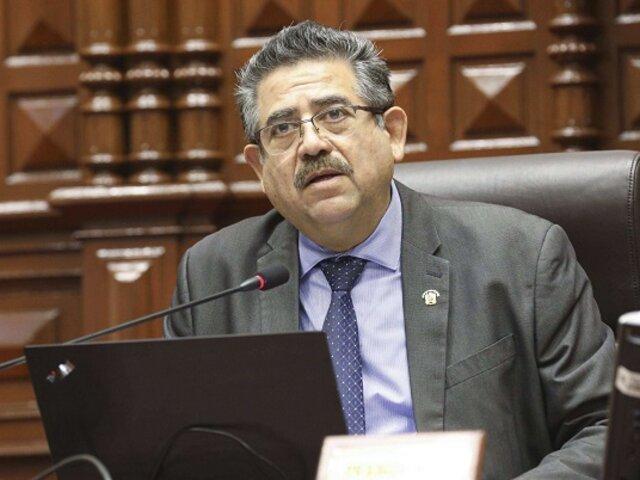 Merino afirmó que Martín Vizcarra le hizo brujería