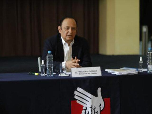 Covid-19: Defensoría señala falta de transparencia del Gobierno en la adquisición de vacunas