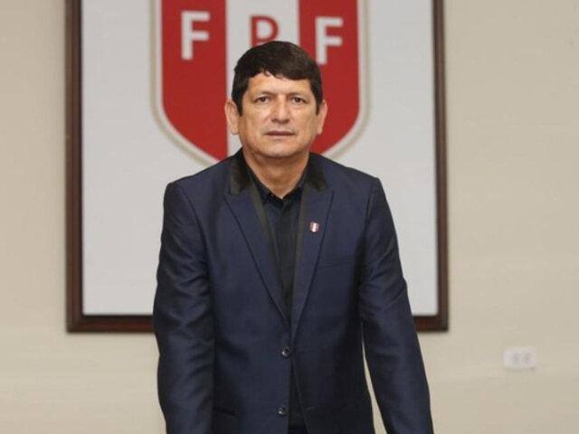 Agustín Lozano continuará como presidente de la FPF por todo el 2021