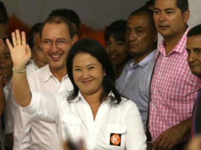 Fuerza Popular: PJ declara infundado pedido que suspendía actividades políticas