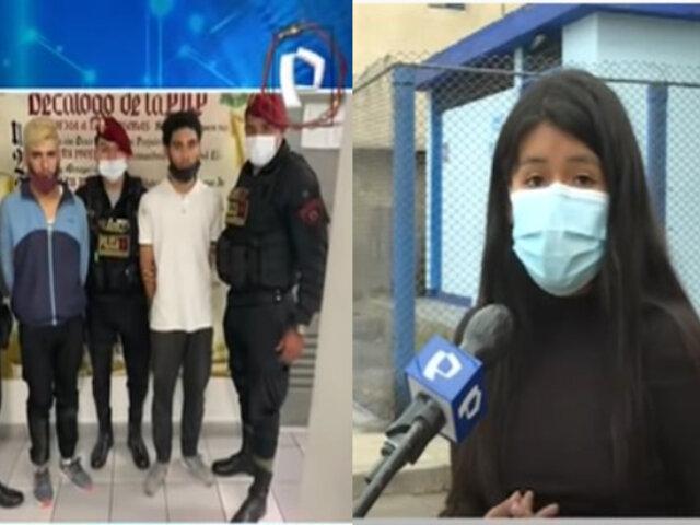 Callao: Habla la joven que fue víctima de un secuestro al paso por parte de delincuentes extranjeros