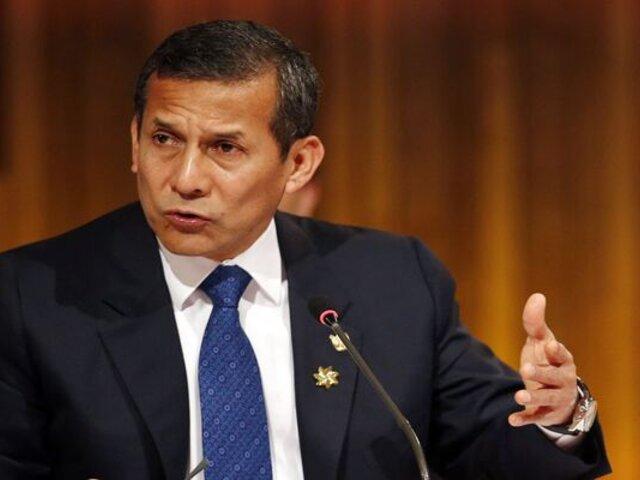 Ollanta Humala: JEE declara inadmisible plancha presidencial del Partido Nacionalista