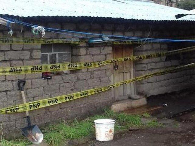 Cusco: padre habría matado a su hija y luego se quita la vida en su vivienda