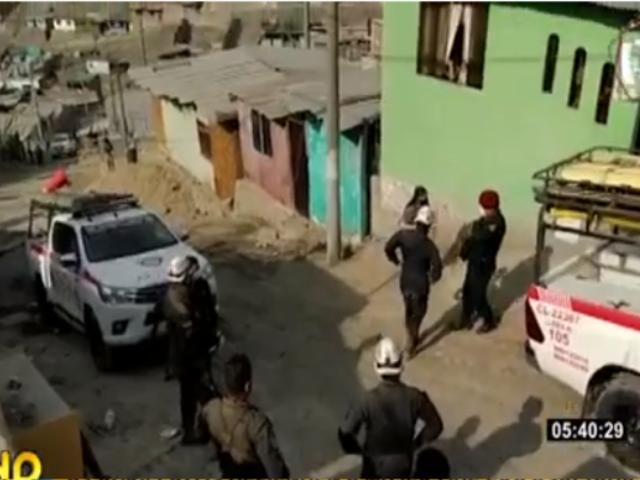 Comas: vecinos de Collique hallan cadáver de mujer con signos de agresión sexual