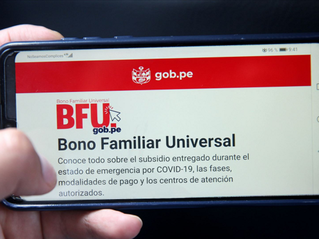 Bono Universal: canales alternos para cobrar el subsidio de S/ 760