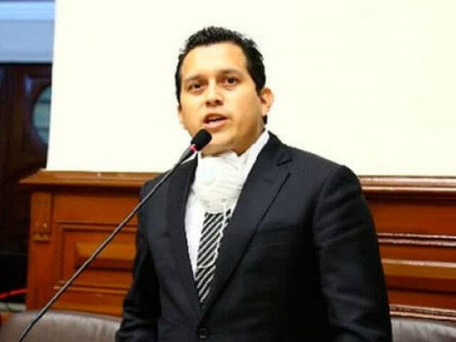 """José Luna Morales: """"preparamos moción de interpelación"""" contra ministro del Interior"""