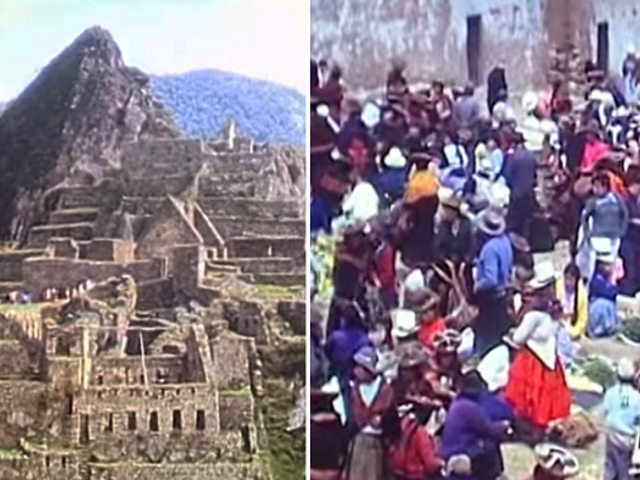 IMPRESIONANTE: video muestra como era viajar hasta Machu Picchu hace 50 años