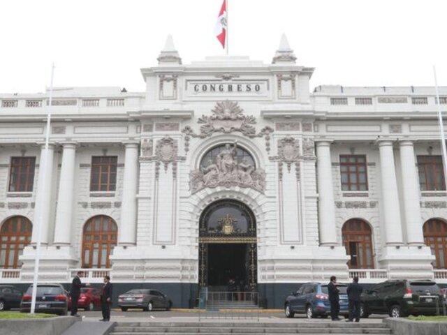 Comisión Permanente verá informe final de acusación contra exjuez Hinostroza