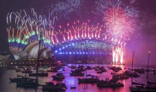 Coronavirus: el mundo celebró Año Nuevo desde casa