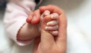 INMP: Dos mujeres y un varón son los primeros bebés nacidos en el 2021