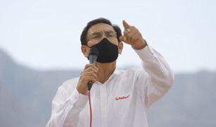 Martín Vizcarra admitió haberse reunido con las fiscales Sánchez y Castro