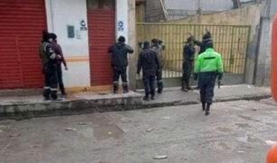 Puno: policía muere durante enfrentamiento a balazos con ladrones