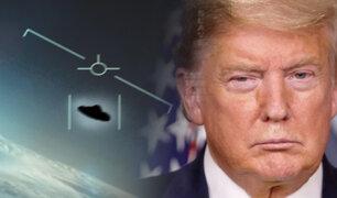 Donald Trump ordena al Pentágono informar todo lo que se sabe sobre OVNIs