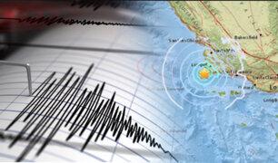 Sismo de 4.3 sacudió California