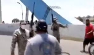 Piura: denuncian que militar golpeó a conductor y realizó disparos al aire por violar inmovilziación