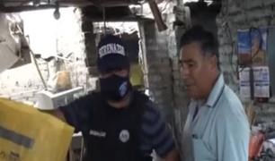 Comas: vecinos defienden a sujeto que vendía pirotécnicos de forma clandestina