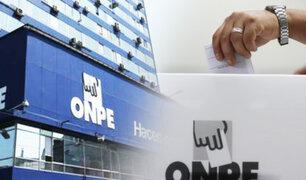 ONPE distribuye 77 millones de soles entre partidos para la franja electoral