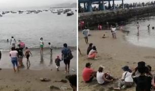 Chorrillos: familias burlaron control policial y visitaron playas pese a prohibición