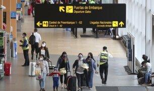 Vuelos internacionales: 7 viajeros dieron positivos para COVID-19 los primeros días del 2021