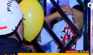 San Miguel: irresponsables vecinos desafiaron toque de queda en Año Nuevo