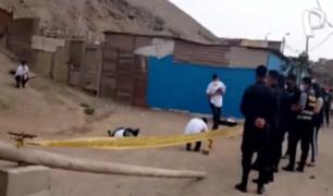 Ventanilla: sujeto fue perseguido y asesinado de siete balazos