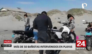 Piura: intervienen a más de 50 personas en Playas de Colan